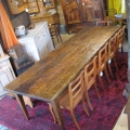 Grande table rustique sapin